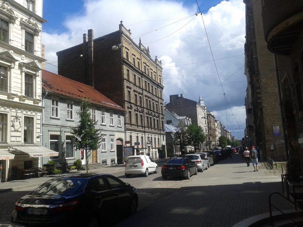 Ģertrūdes street, Pre-war architecture in the city of Riga