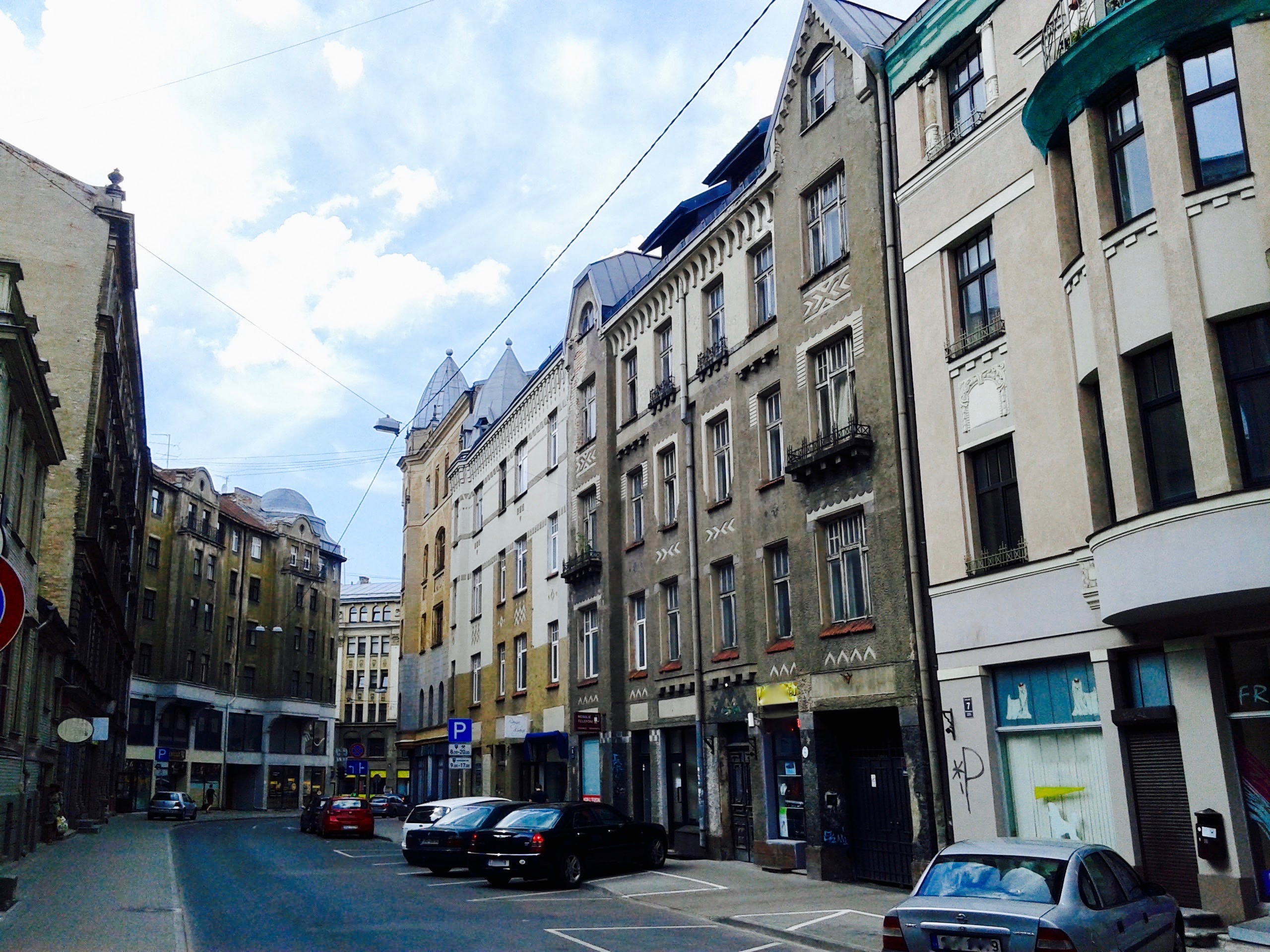 Great location - connection with A. Čaka Street