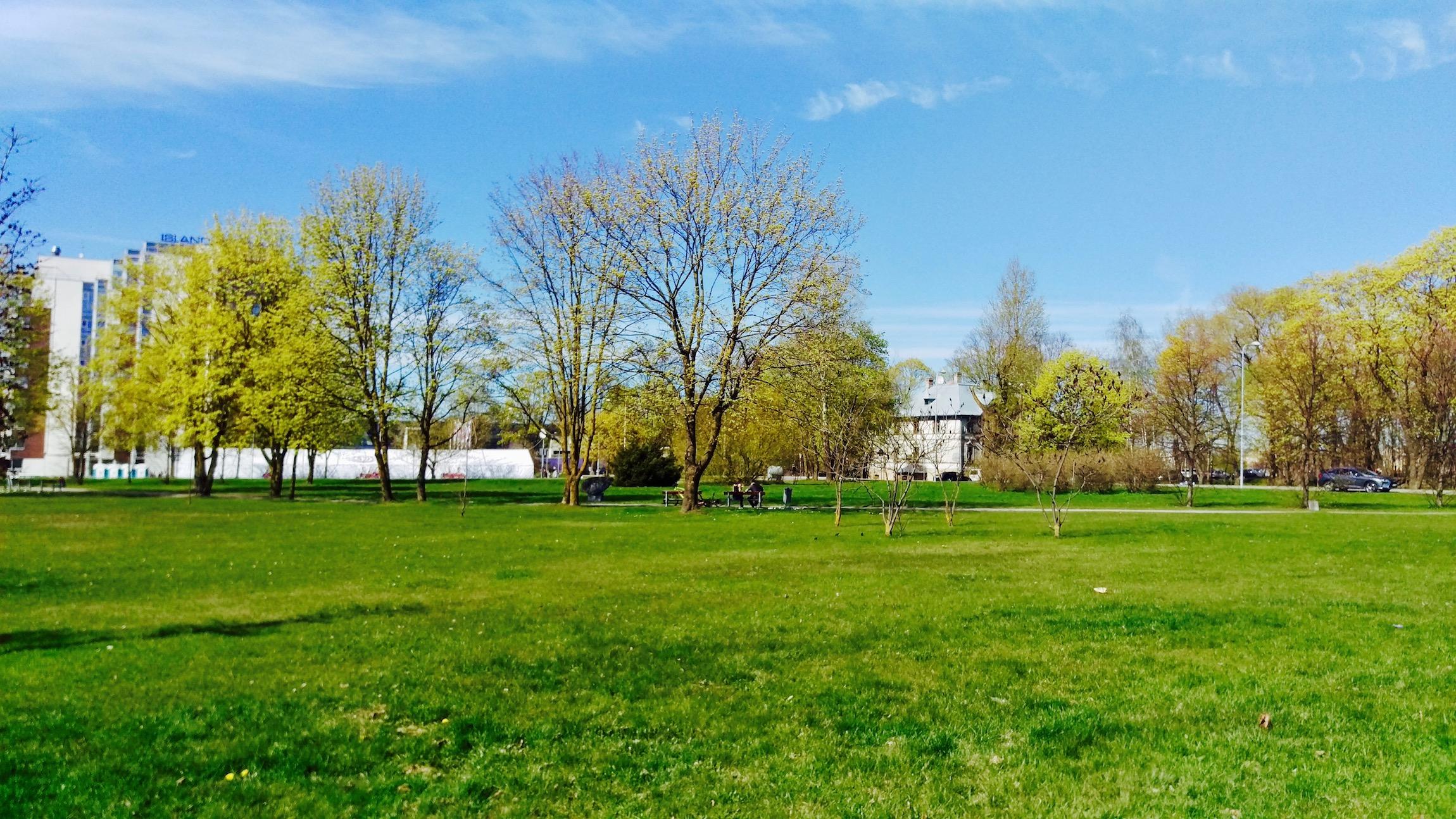 Beautiful spring in Kipsala