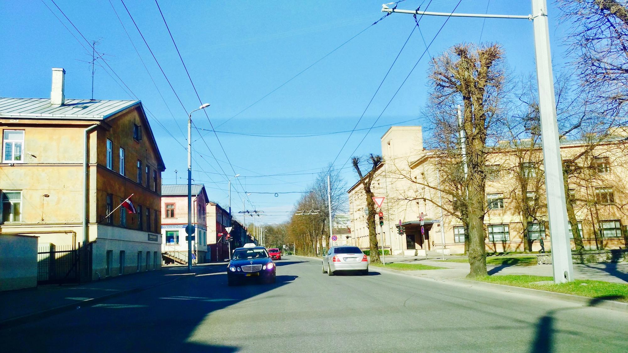Traffic - Jāņa Asara Street