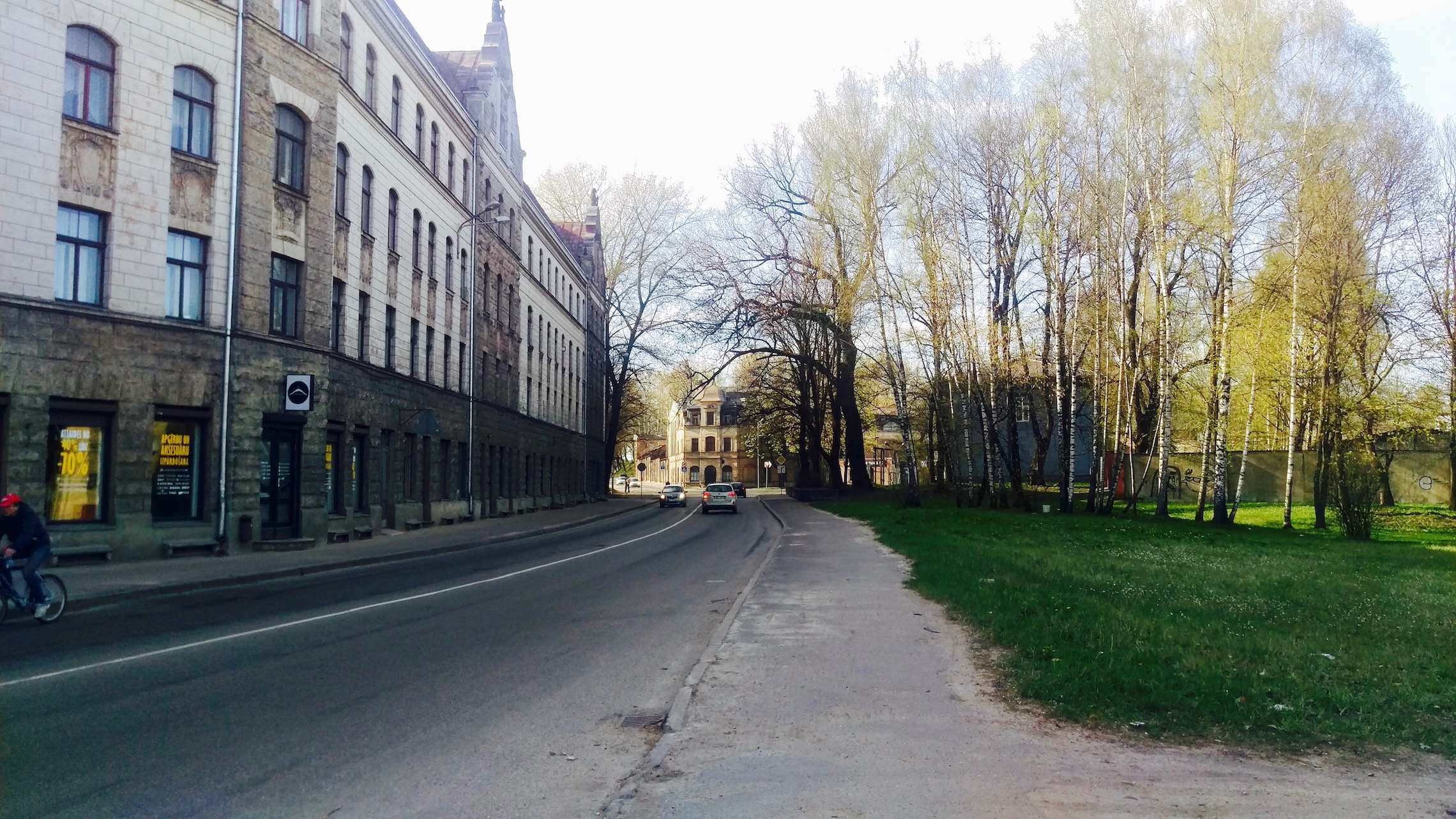 A quiet, residential neighborhood close to transportation