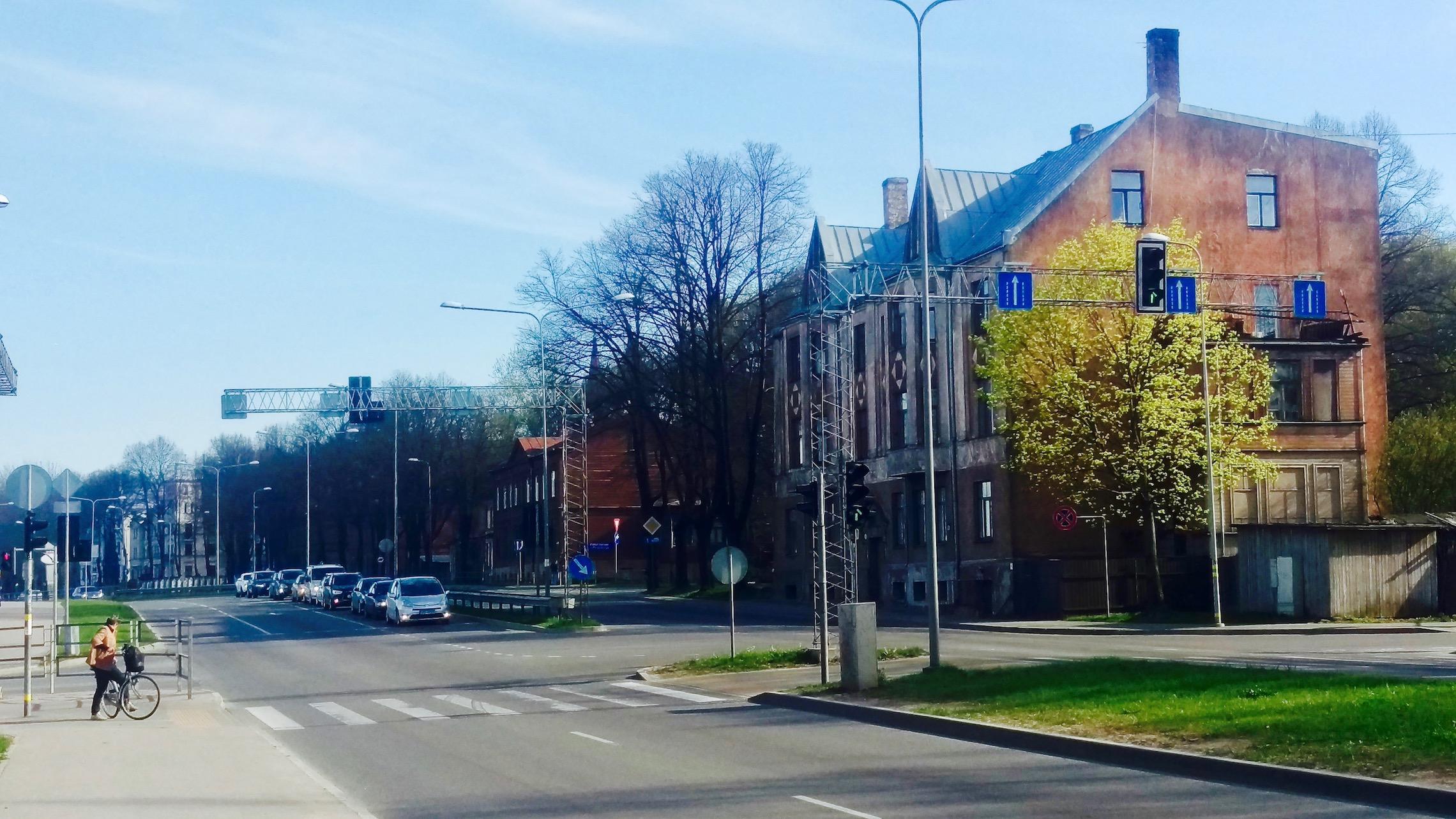 Dzirciems is up and coming neighborhood