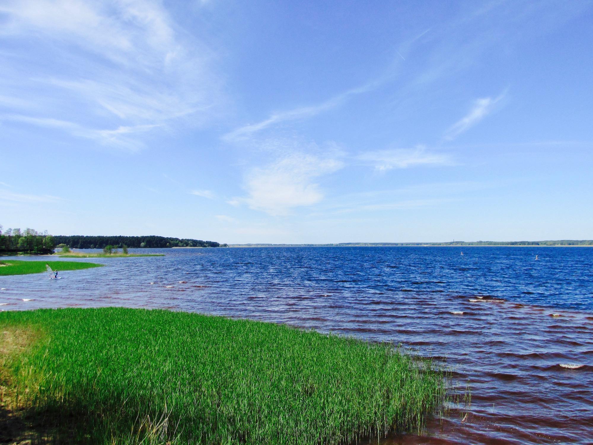 Ķīšezers lake in Mežaparks