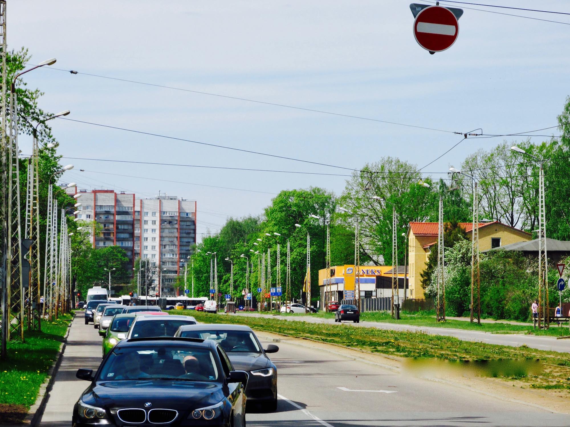 Accessibility of Dzirciems neighborhood - Jūrmalas Gatve