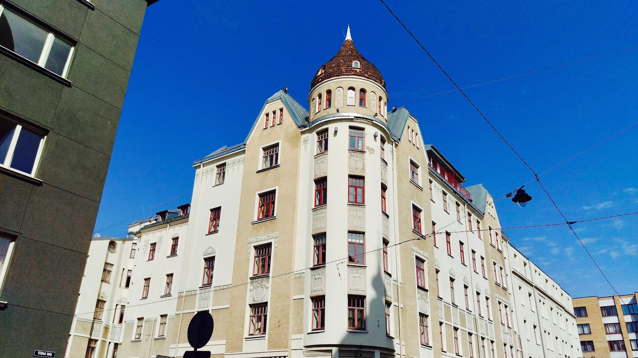 Art Nouveau architecture in Riga makes up roughly one third of all buildings in the centre of Riga