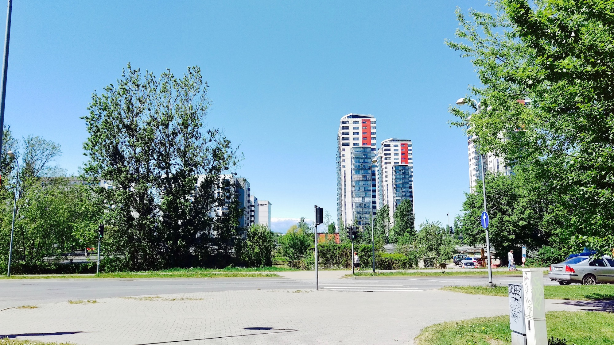 New Developments in Skanste neighborhood