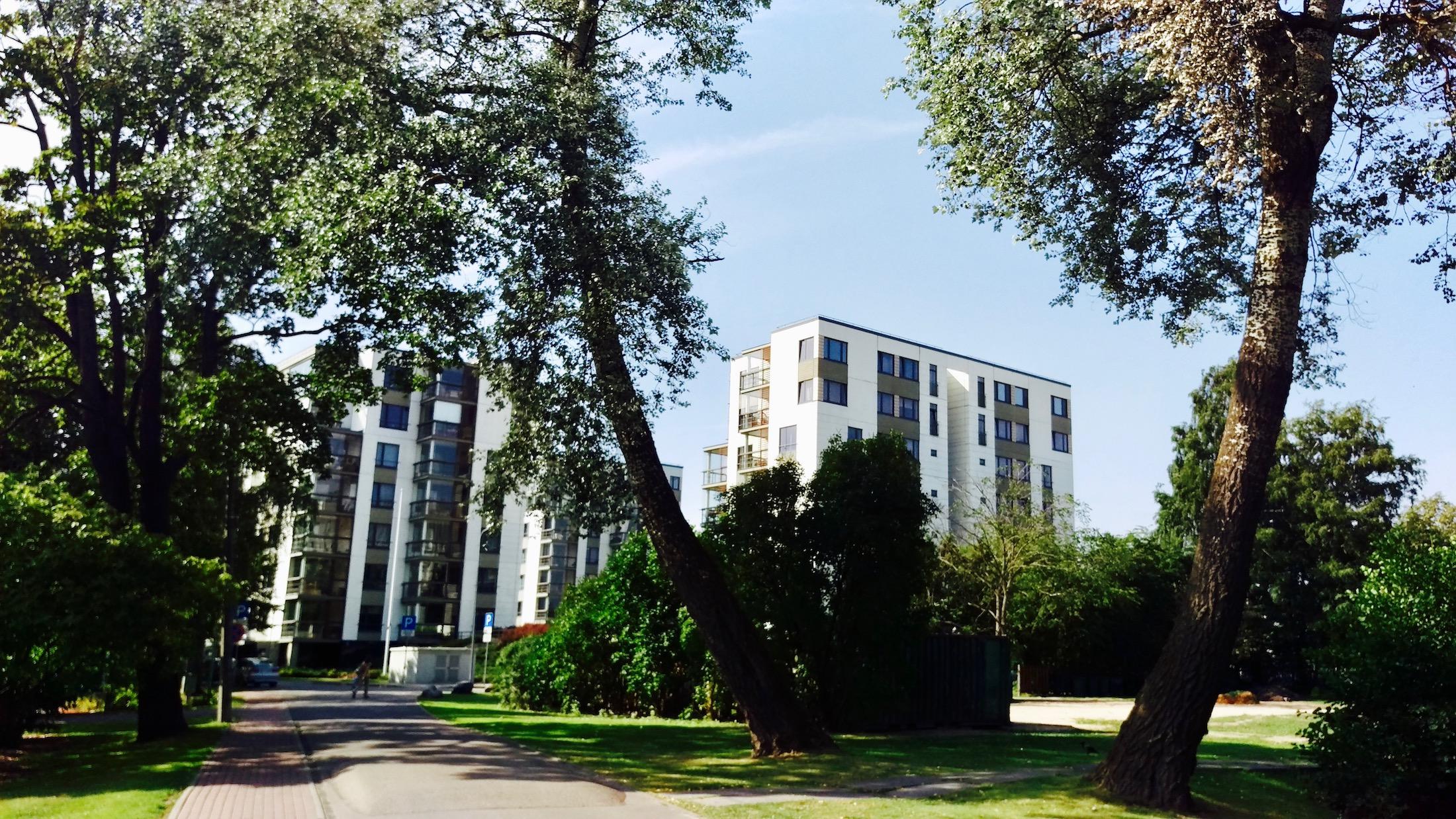 Viesturdārzda residential buildings