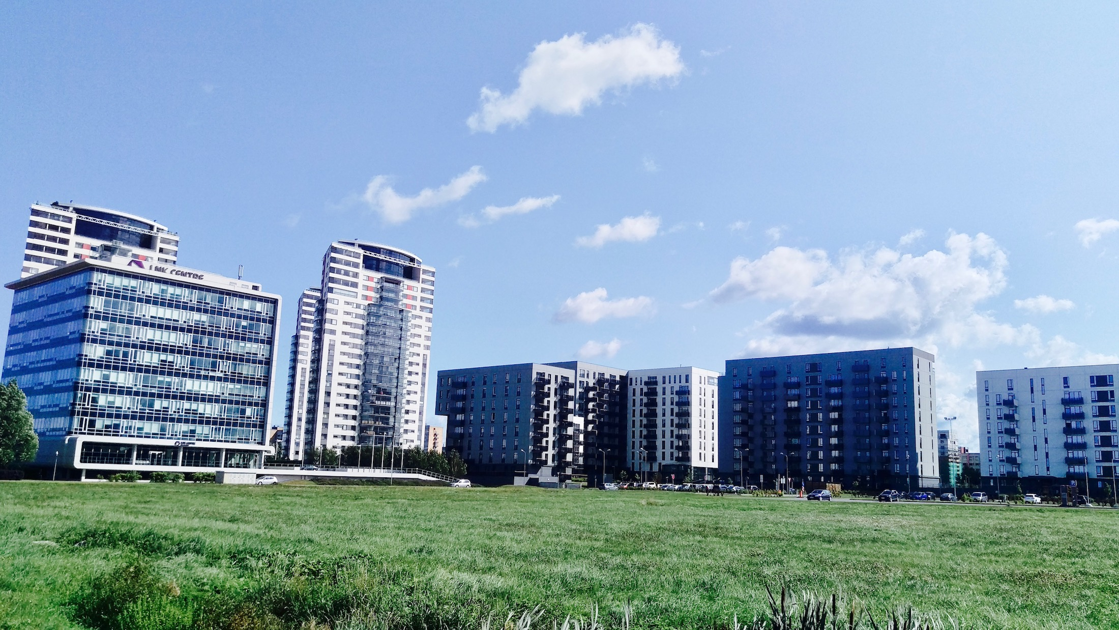 Office and Residential buildings in Skanste neighborhood