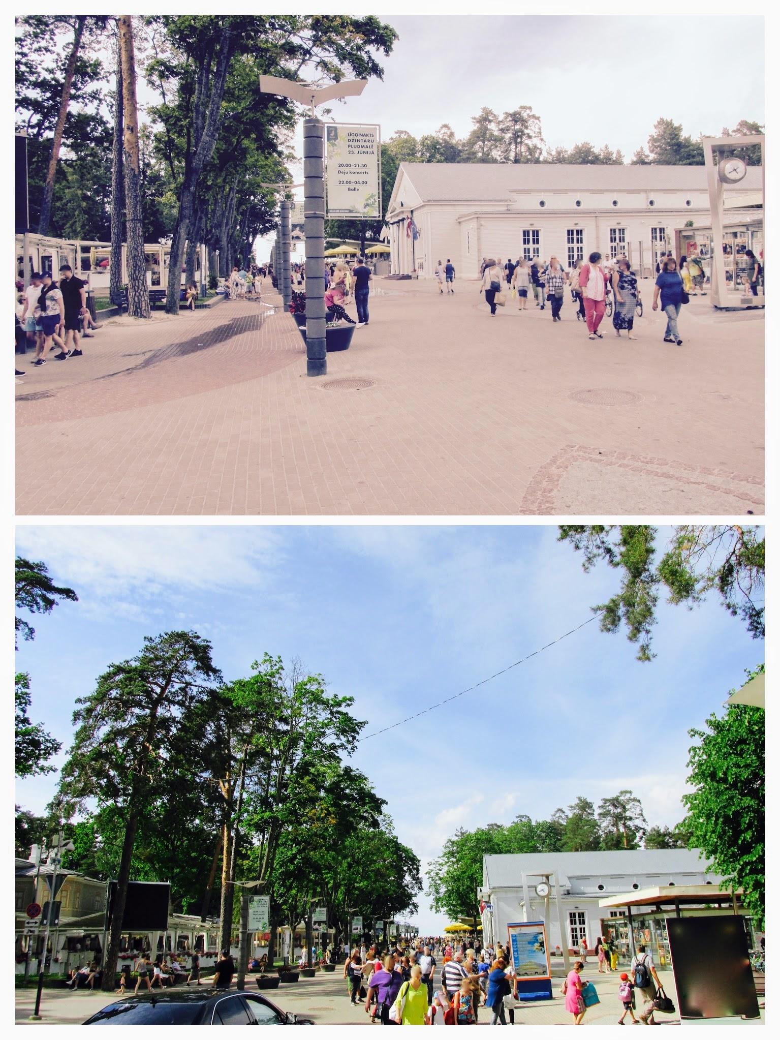 Area around Dzintari Concert Hall usually is full of people - Urban Treetops
