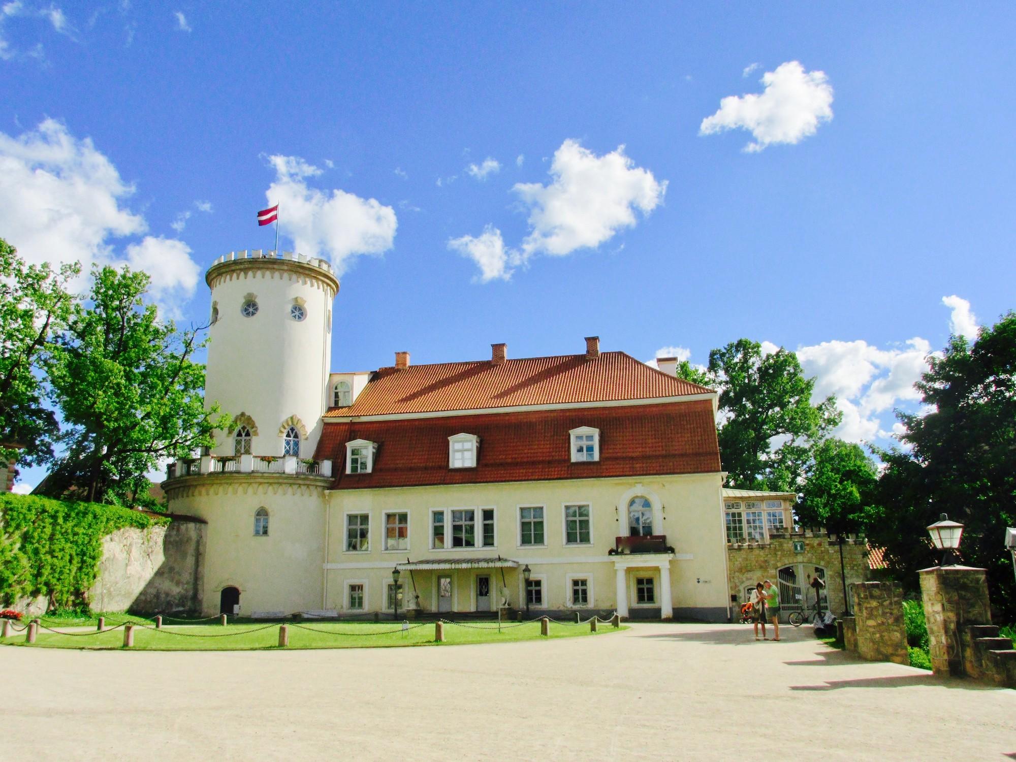 Cesis castle manor house