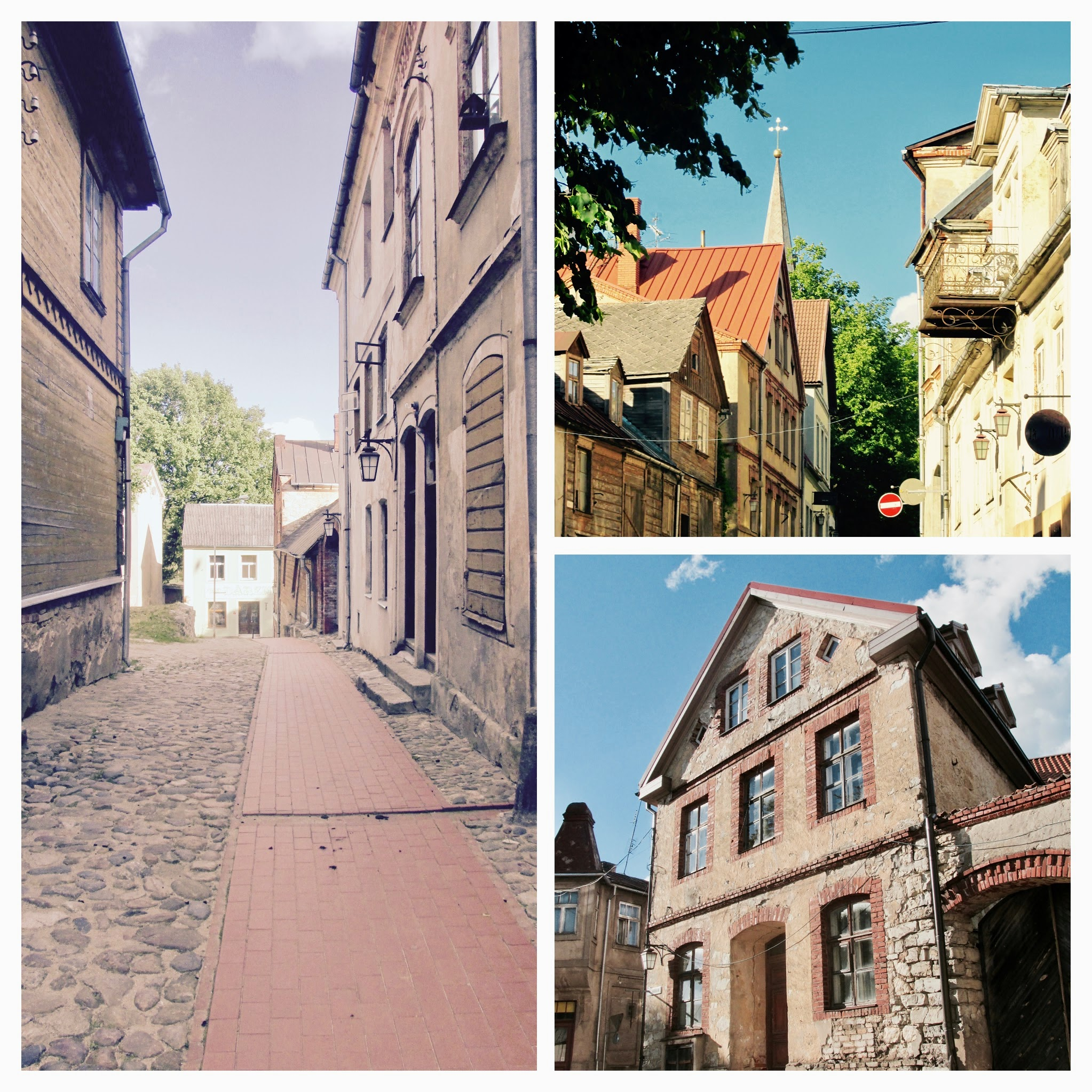 Cesis has many historical buildings that carry the traces of history!