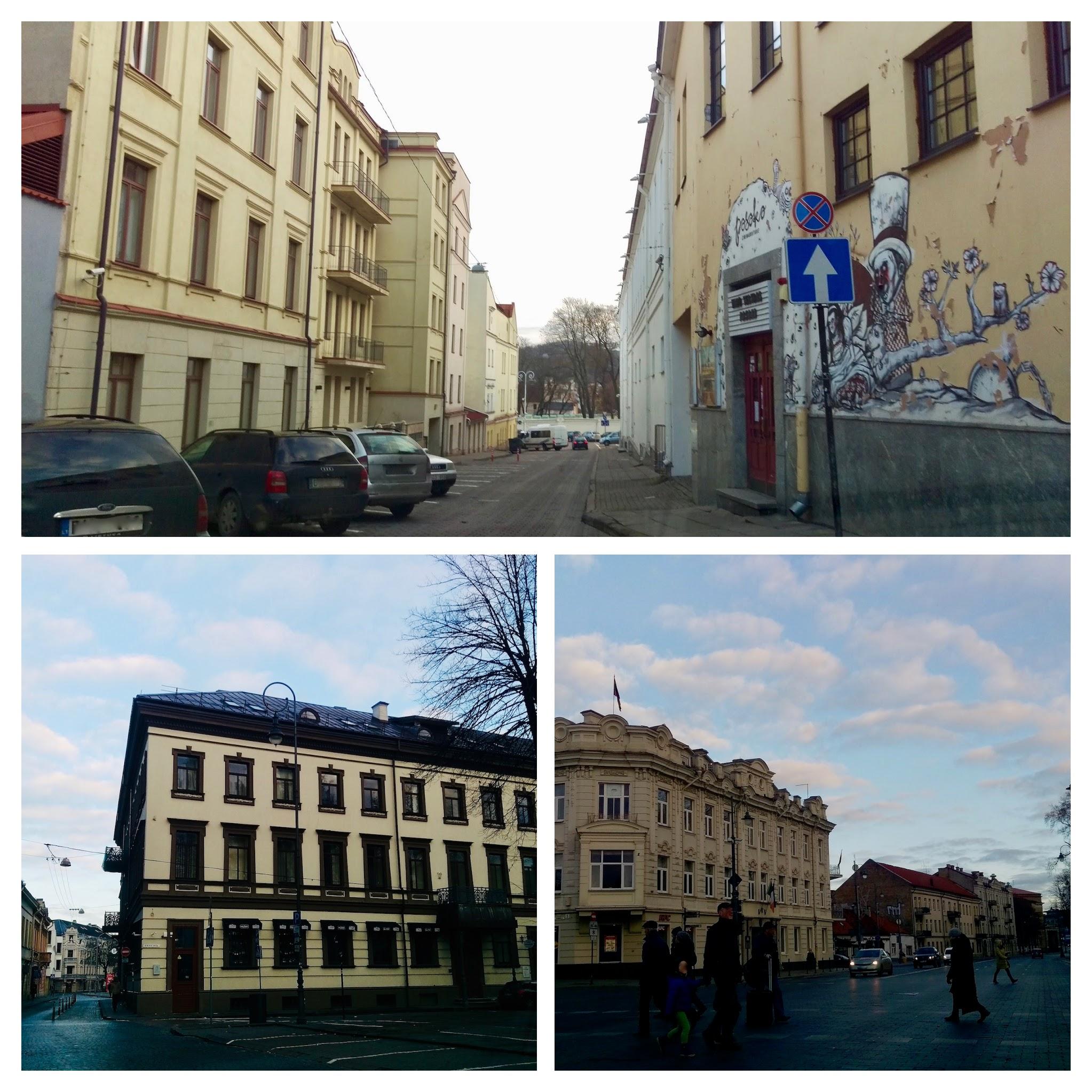 Pre-war architecture in Vilnius - pretty cool