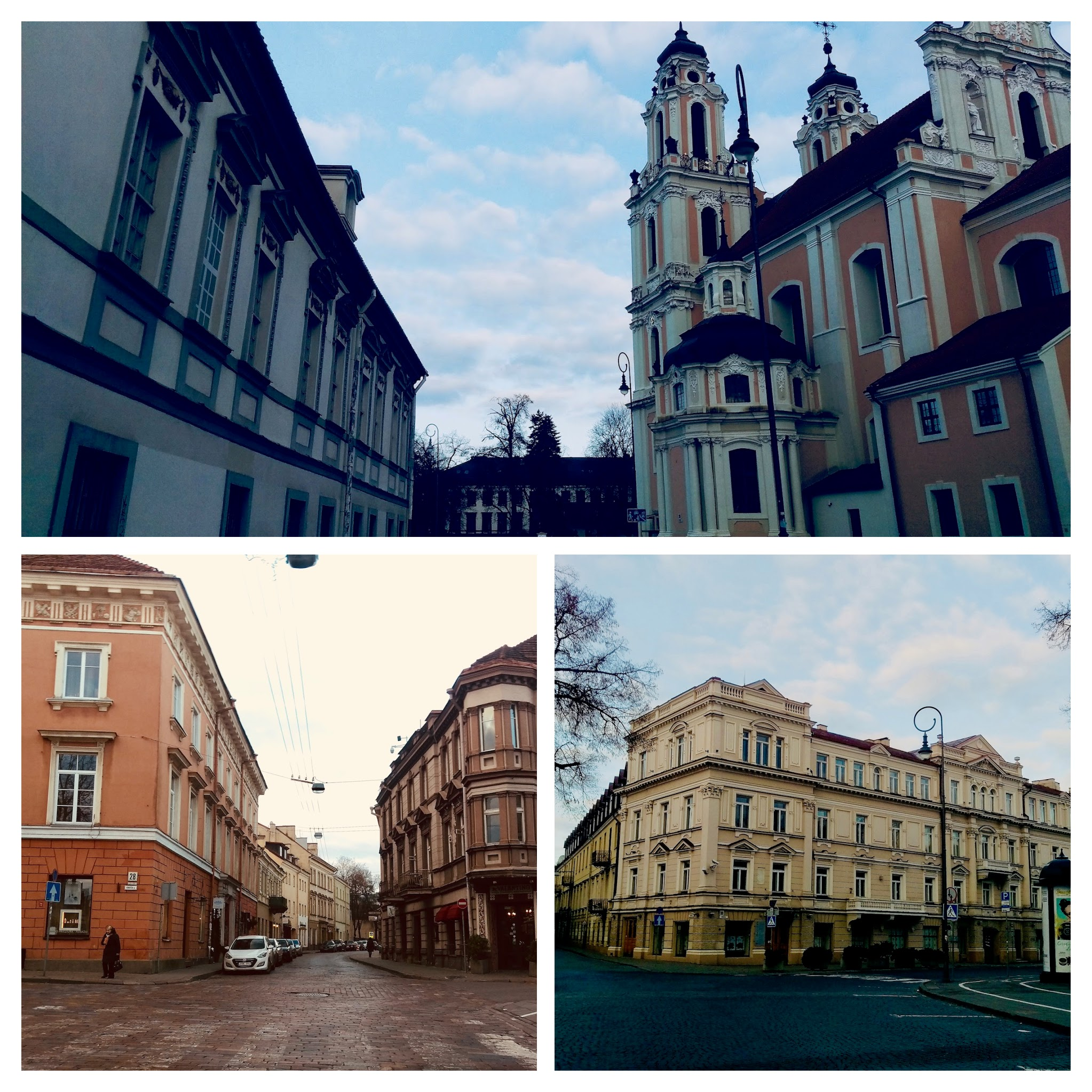 We fell in love with the architecture of Vilnius - such a great place to be