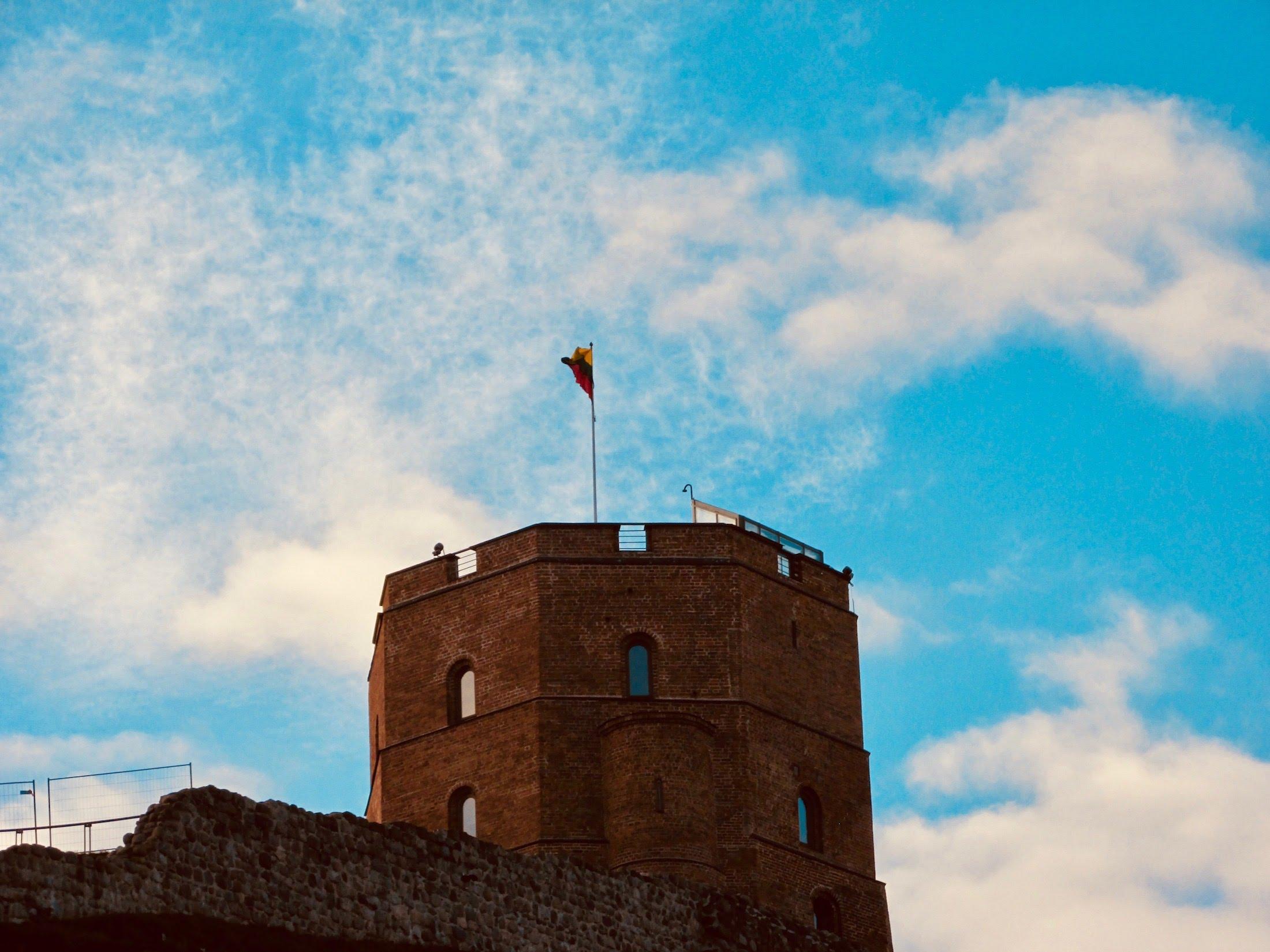 Gediminas' Tower, height 48m