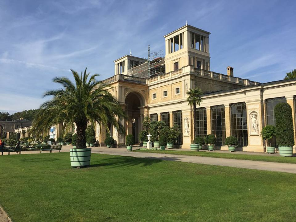 The Orangery Palace from the front side.