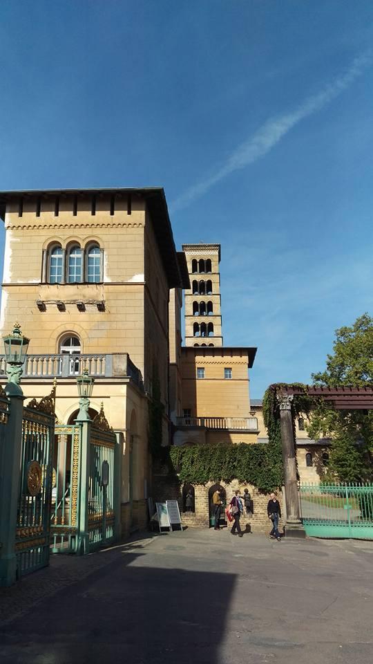 Entrance into Park Sanssouci.