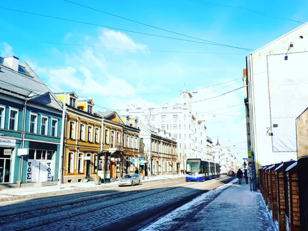 Barona street is one of the coolest streets in Riga with several good coffee shops.