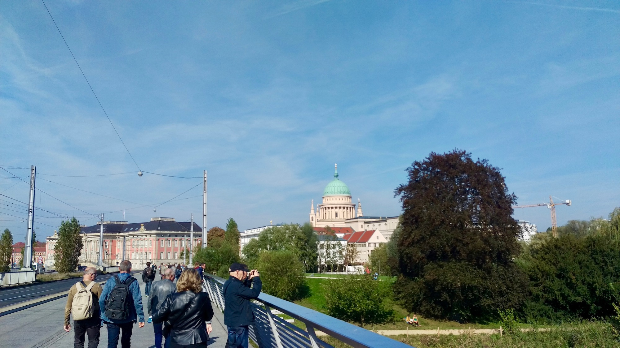 Alte fahrt Potsdam.