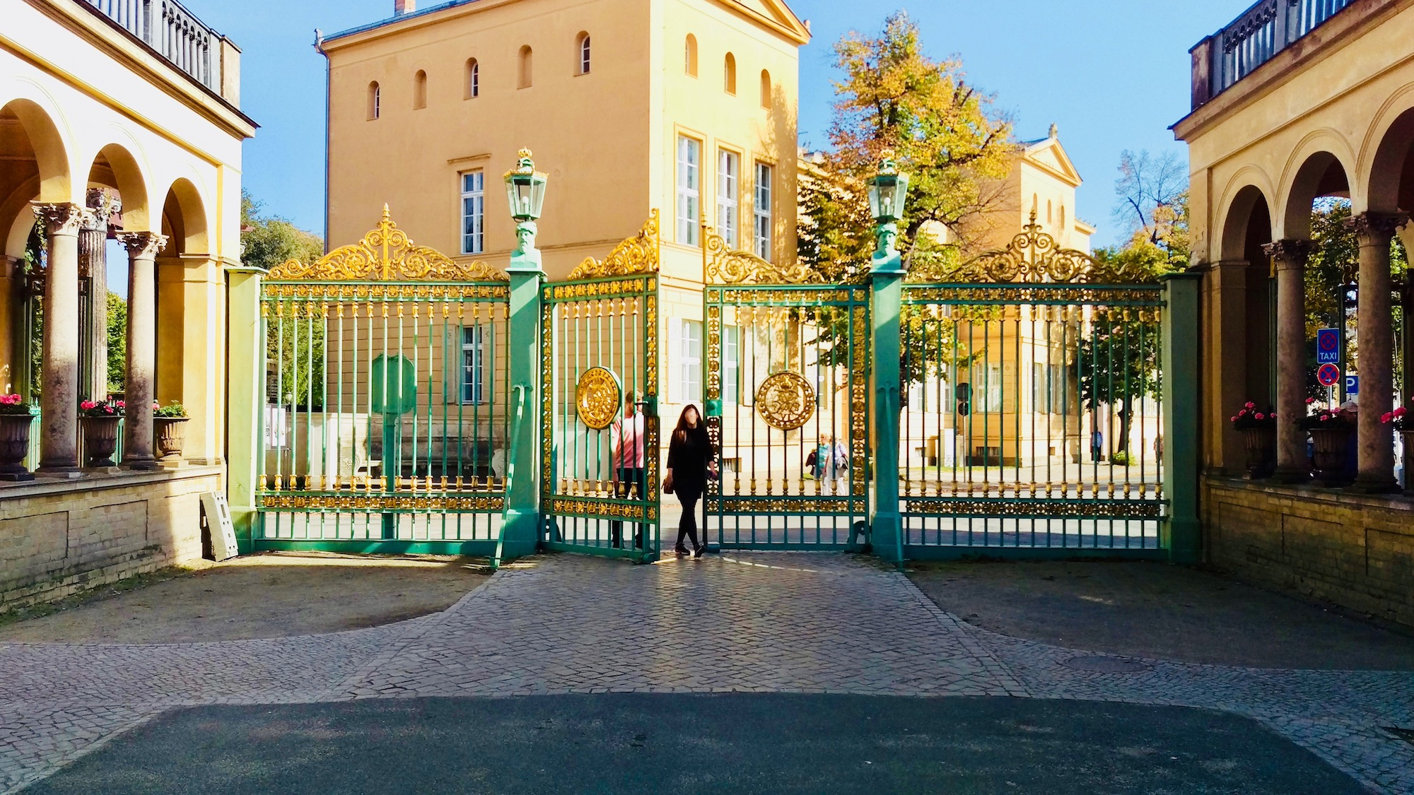 Entrance into Park Sanssouci.