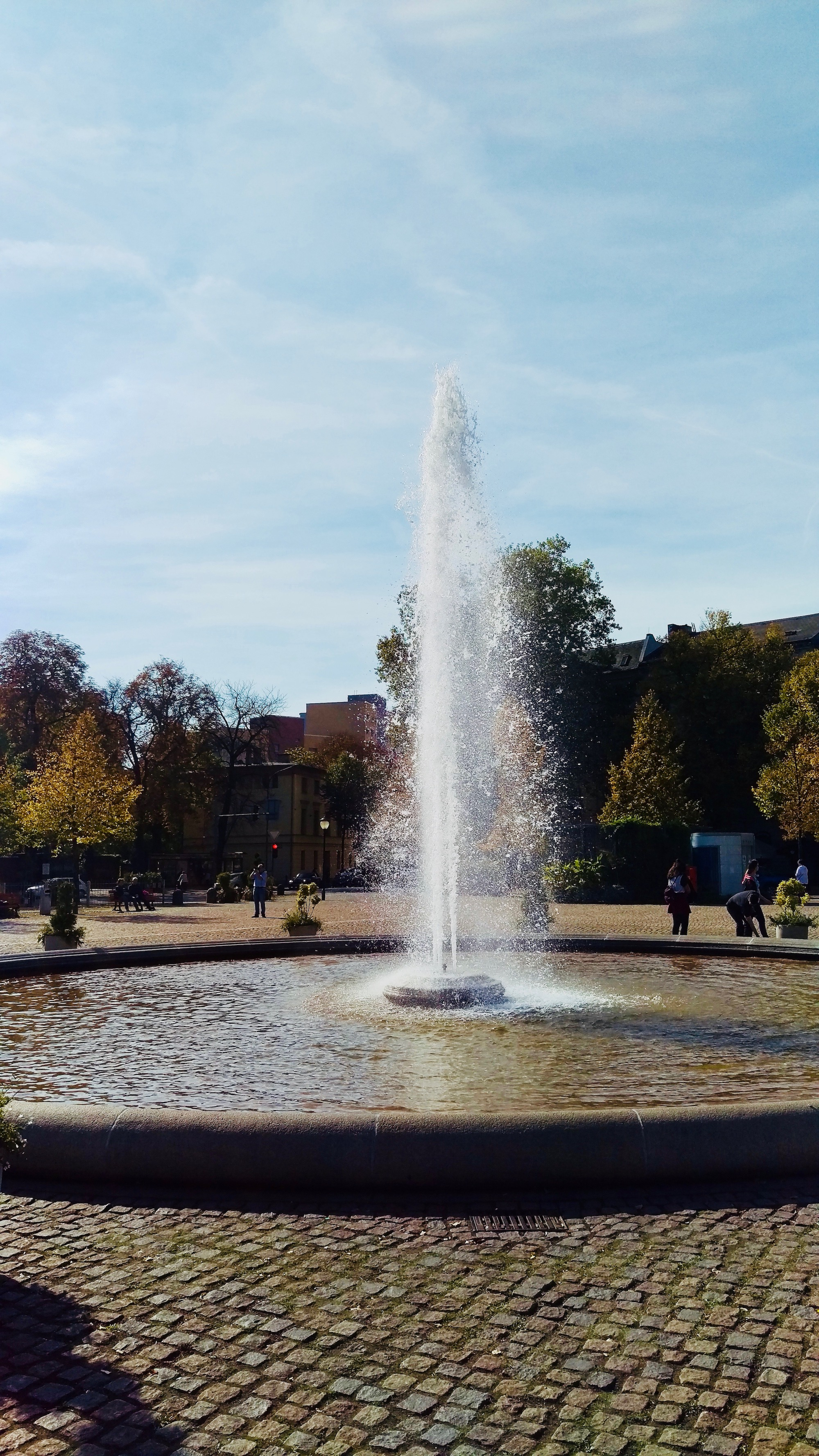 Fountain Luisenplatz - A great place where to spend your summer day!