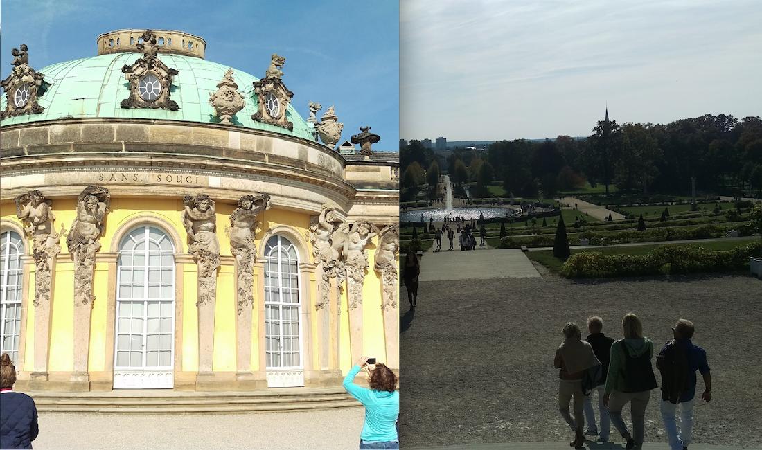 Sanssouci palace carries a big part of Potsdam's history