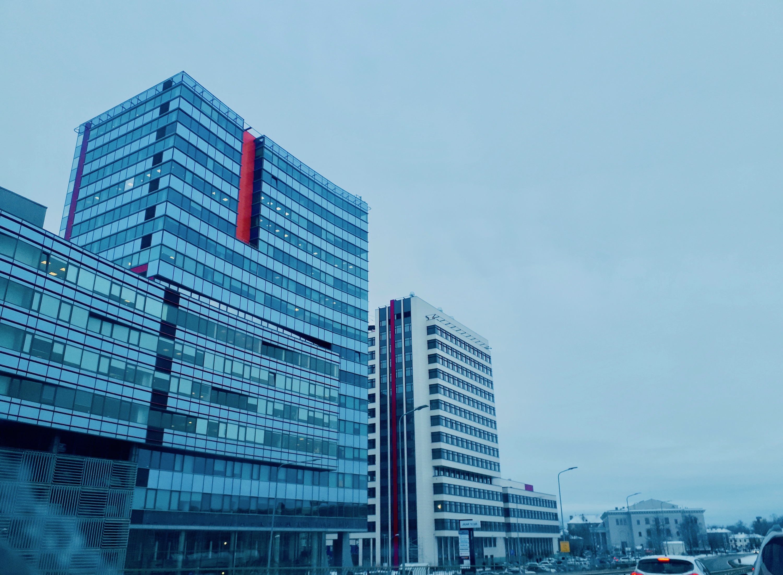 The New Teika or Jaunā Teika in Teika neighborhood, Riga.