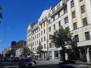 Ģertrūdes iela, the neighborhood of center in Riga