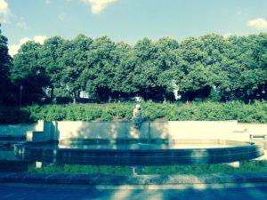 Grīziņkalns Park green space