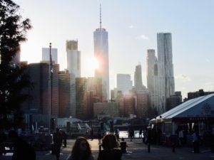 Manhattan Skyline by Urban Treetops