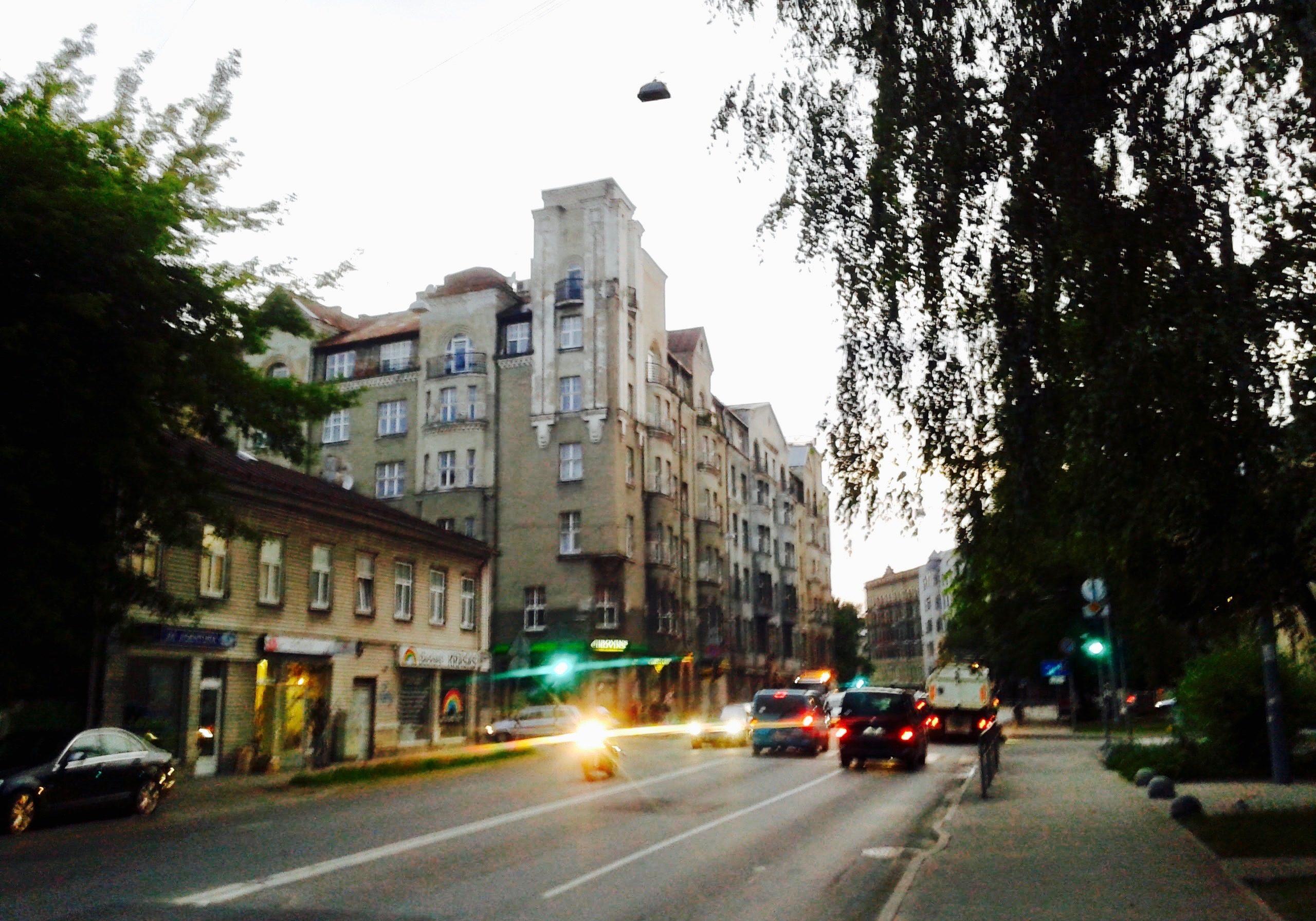 Lāčplēša Street in Avoti neighborhood
