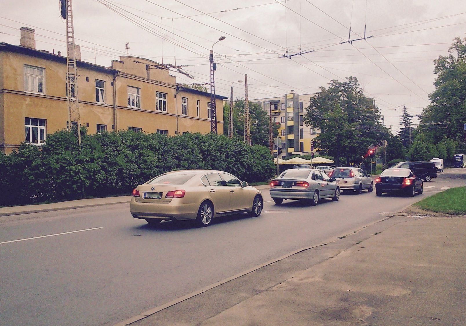 Teikas apbūves daudzveidība - Biķernieku iela