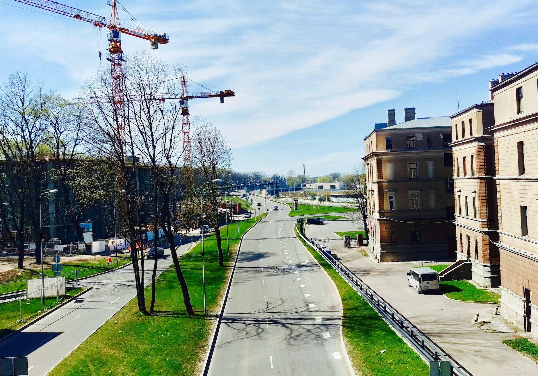 Daugavgrivas street is almost 6km long