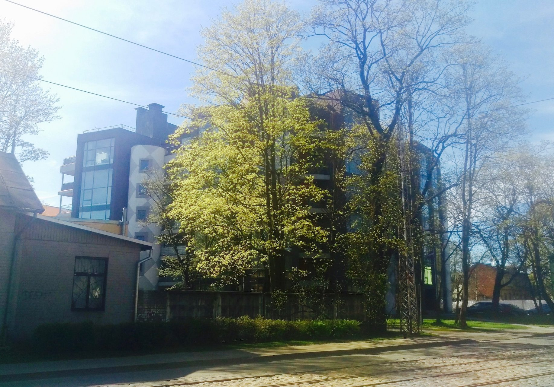 Similar as in other neighborhoods of Riga, several new constructions are developing in Dzirciems