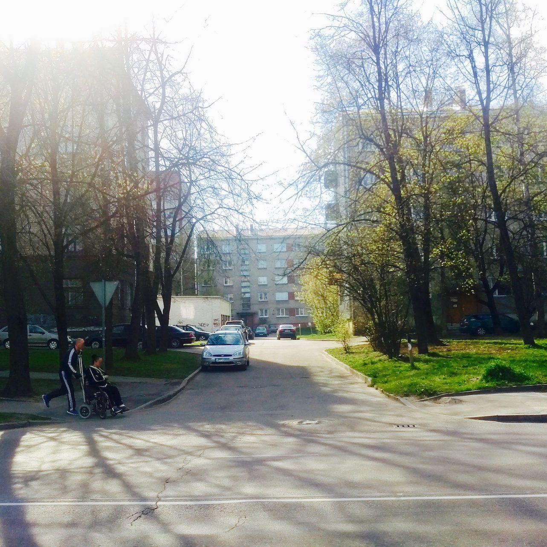 Soviet-era residential buildings