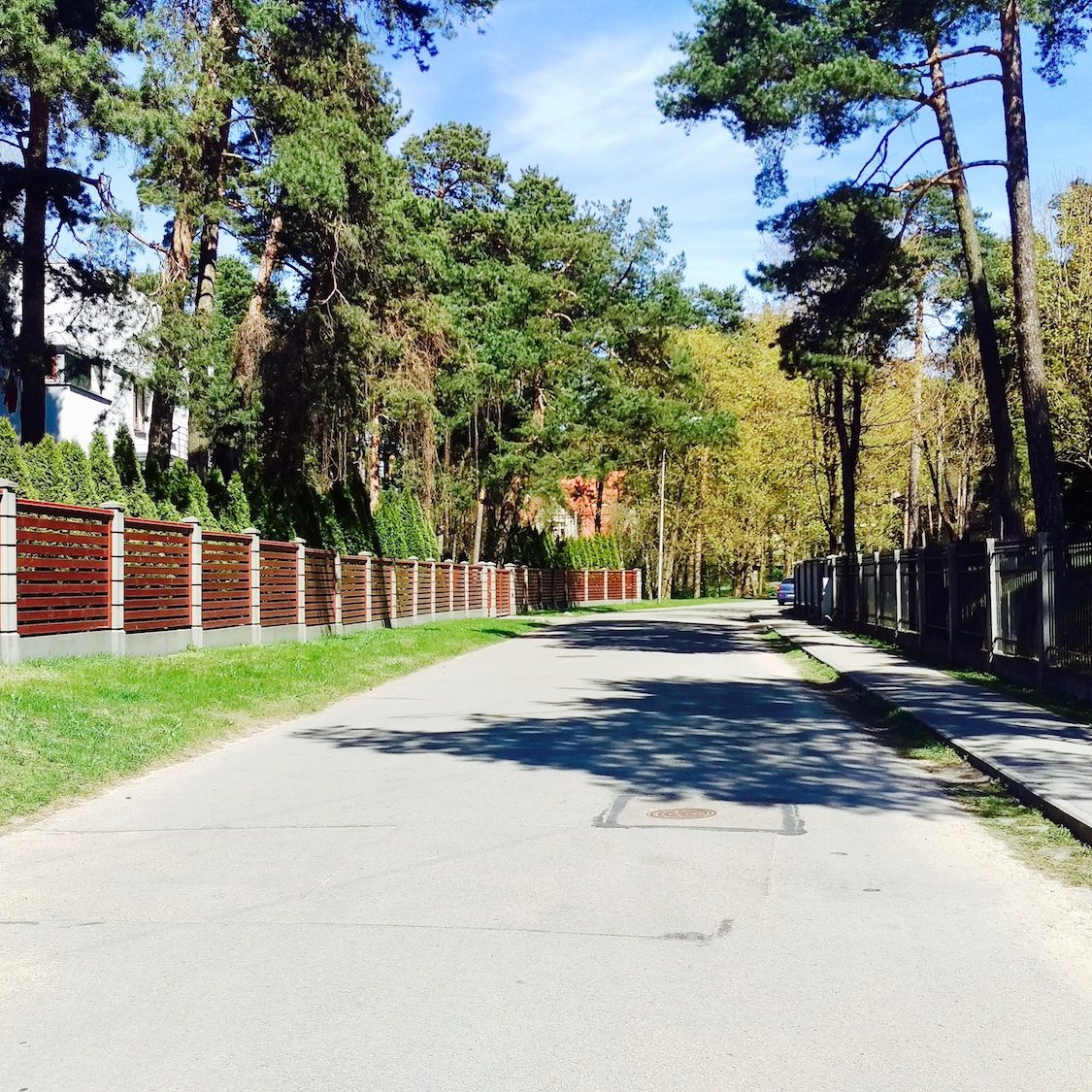 Hamburgas Street is one the most impressive areas in Mezaparks