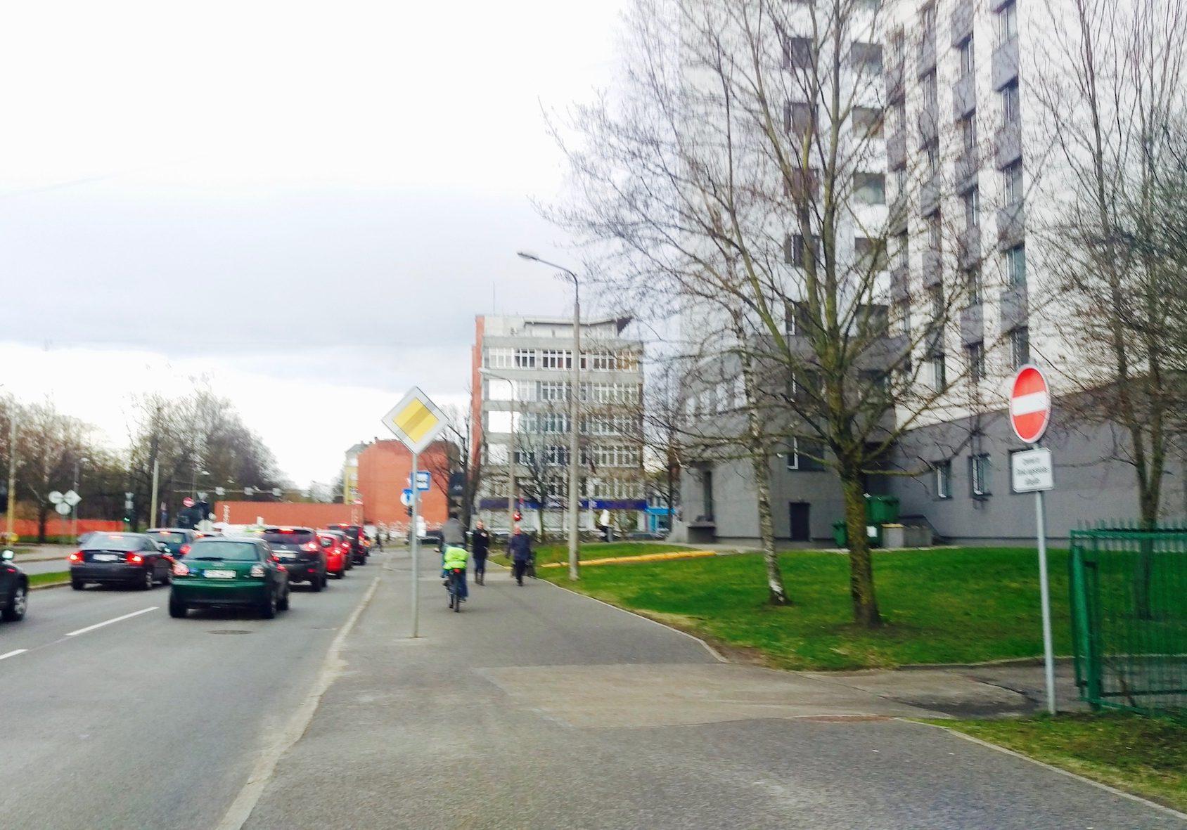 Skanstes and Kr. Valdemāra Street corner