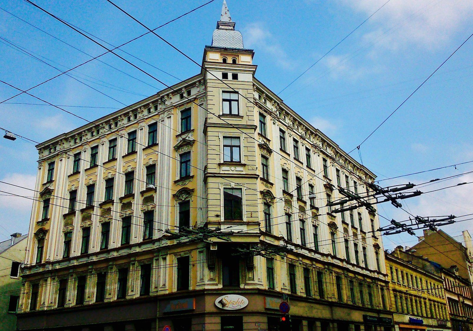 Beautiful architecture on Caka street
