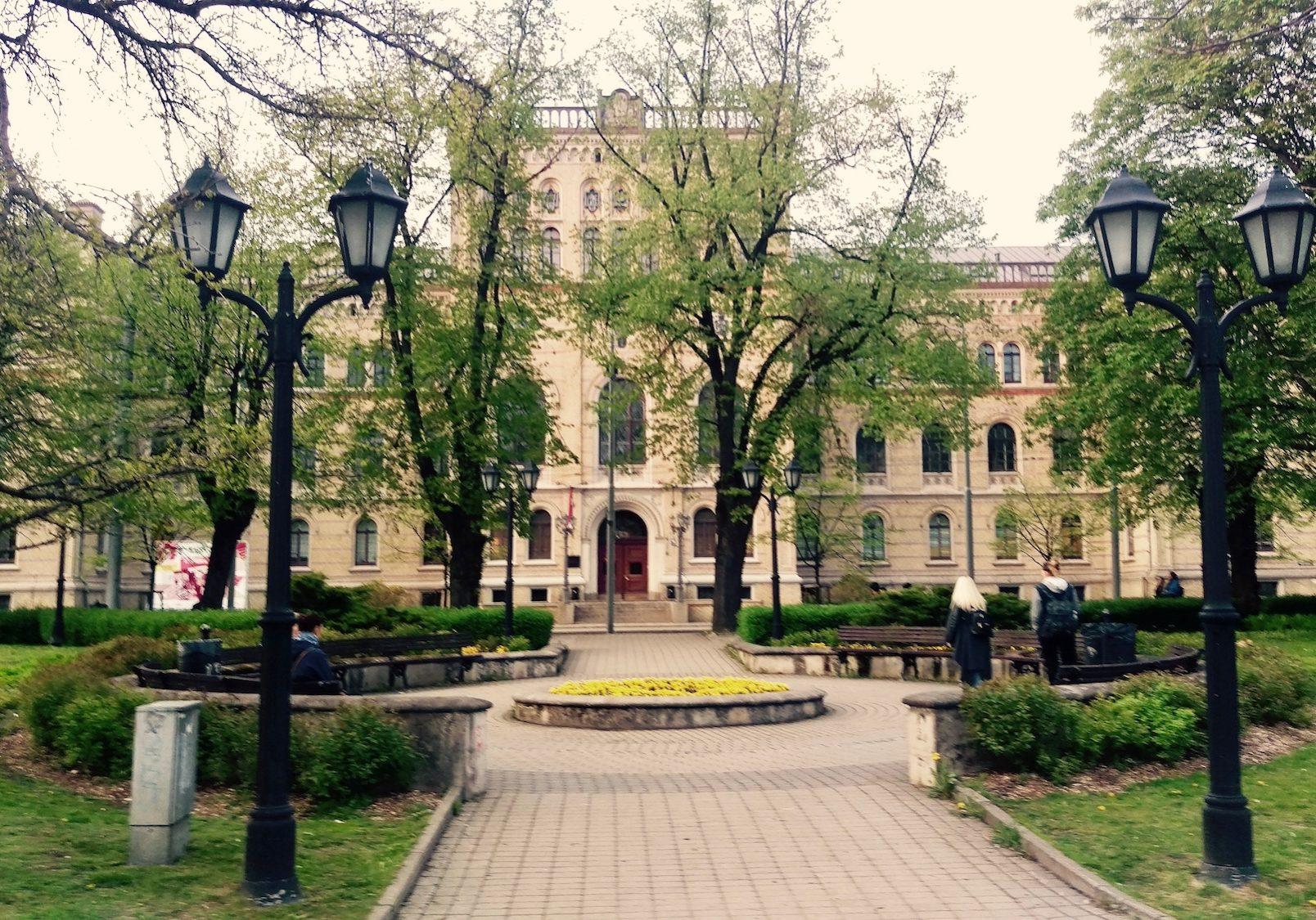 Surrounding territory - University of Latvia