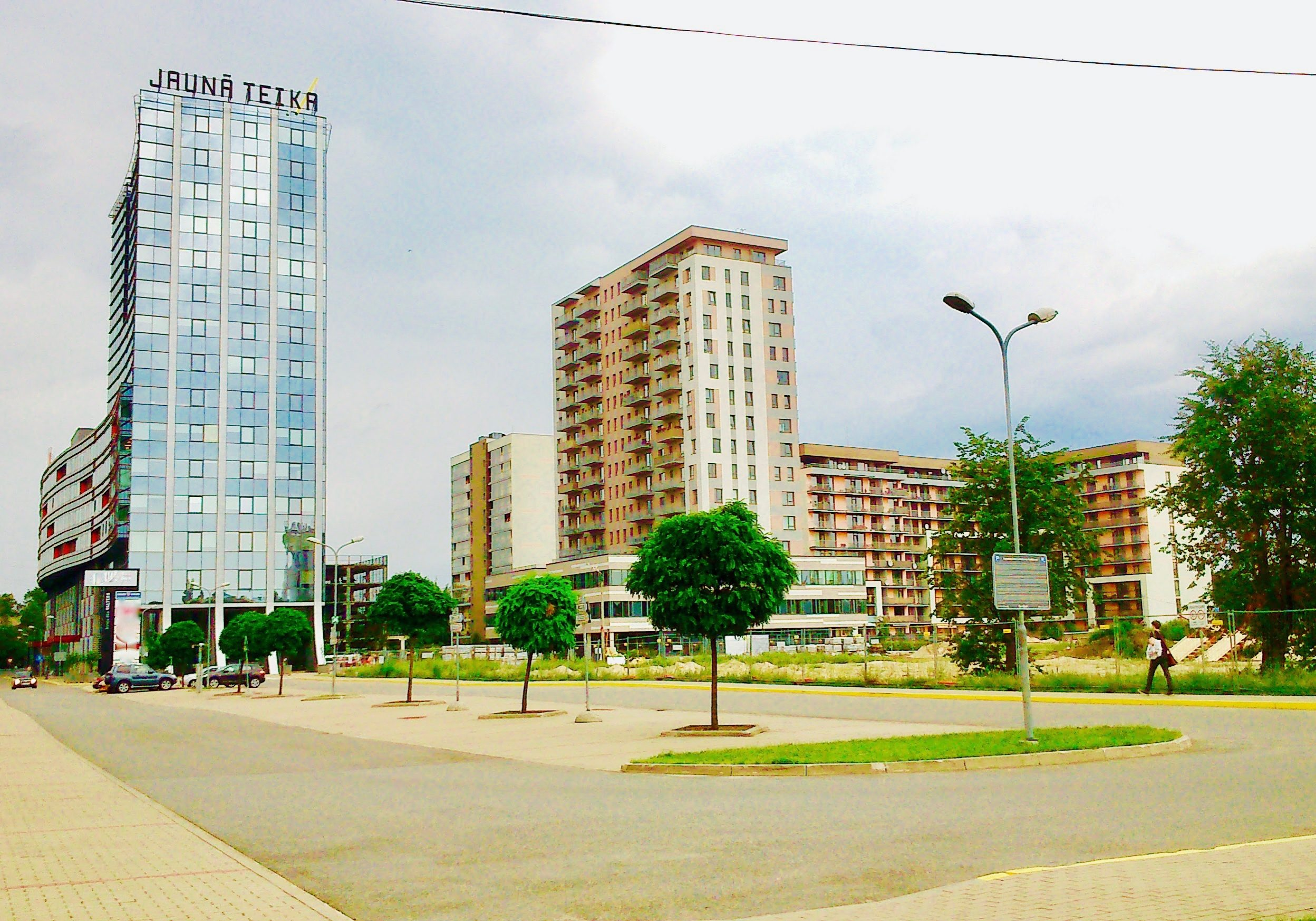 Jaunā Teika is a new construction project