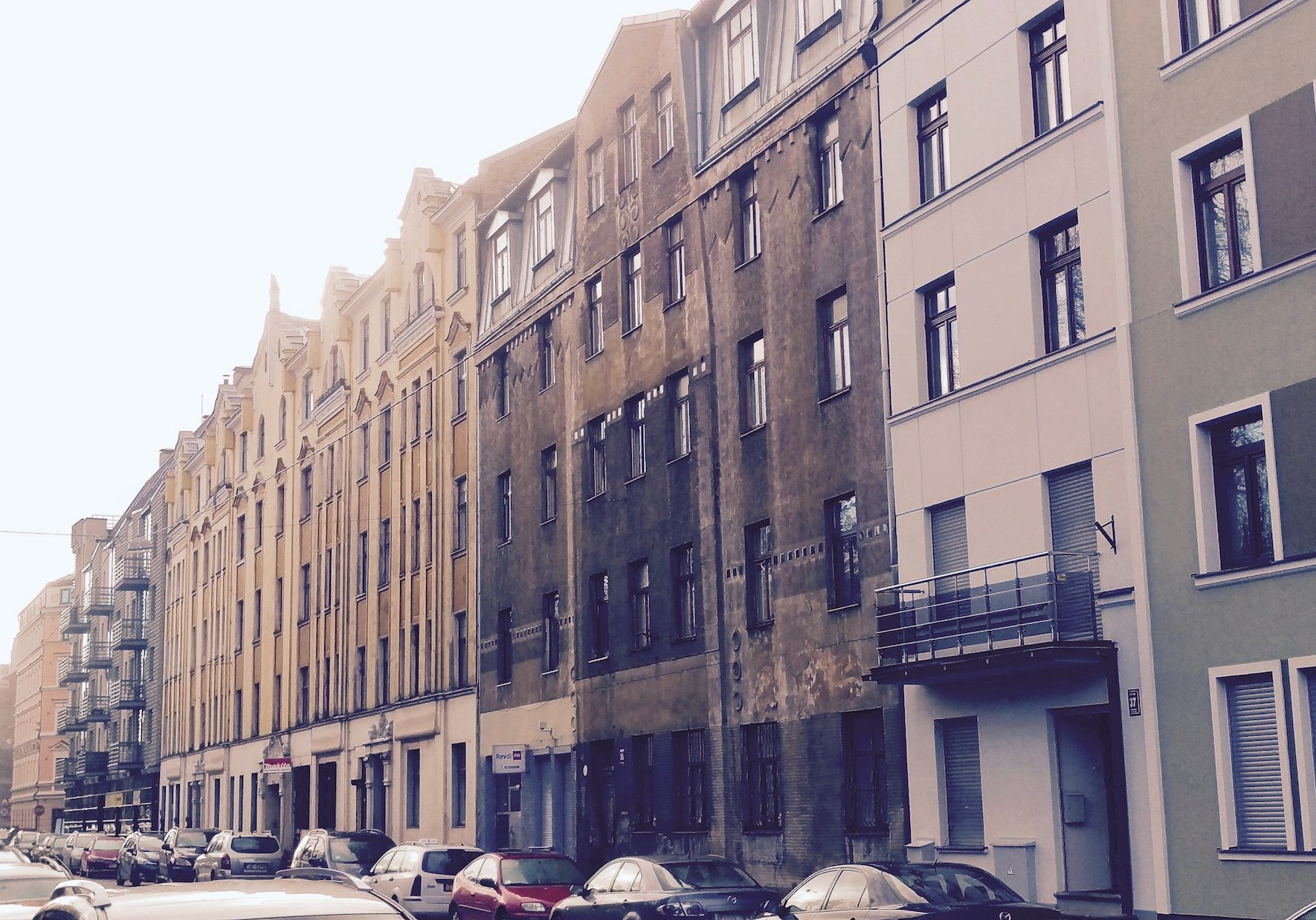 Riga Art Nouveau residential buildings