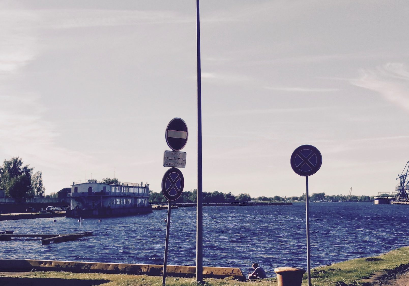 Daugava river water front is a Big plus