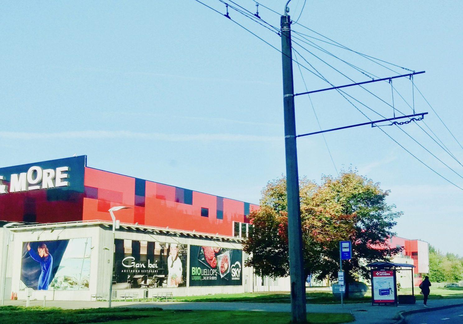 Shopping center: Sky & More